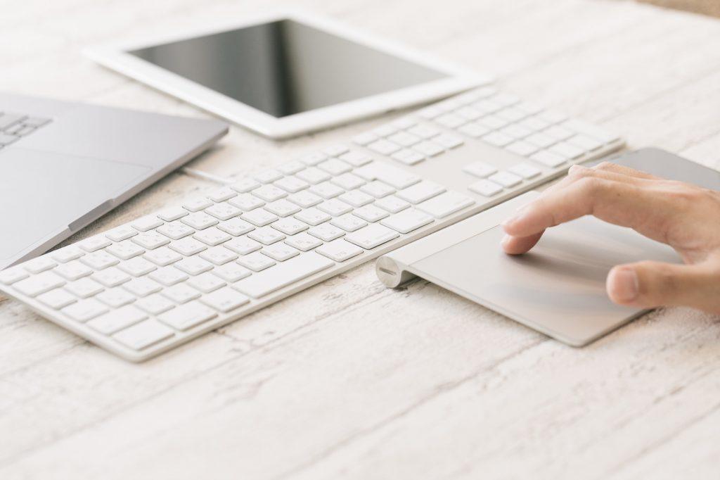 タブレットとキーボード
