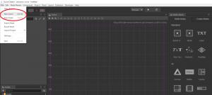 cocos_creatorの画面