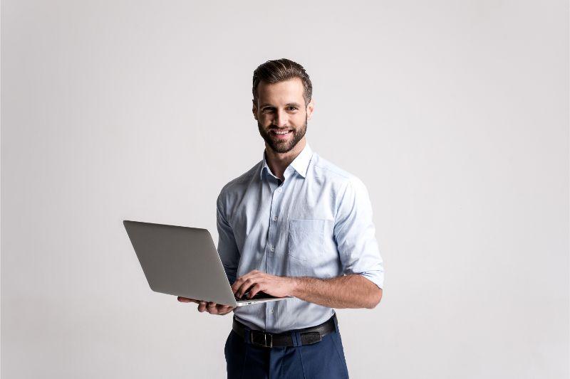 パソコン 男